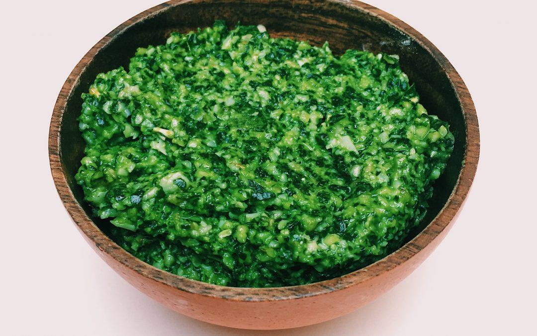 Pesto van radijsblad: een heerlijke variant op de standaard pesto