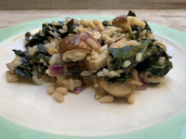 Recept palmkool risotto