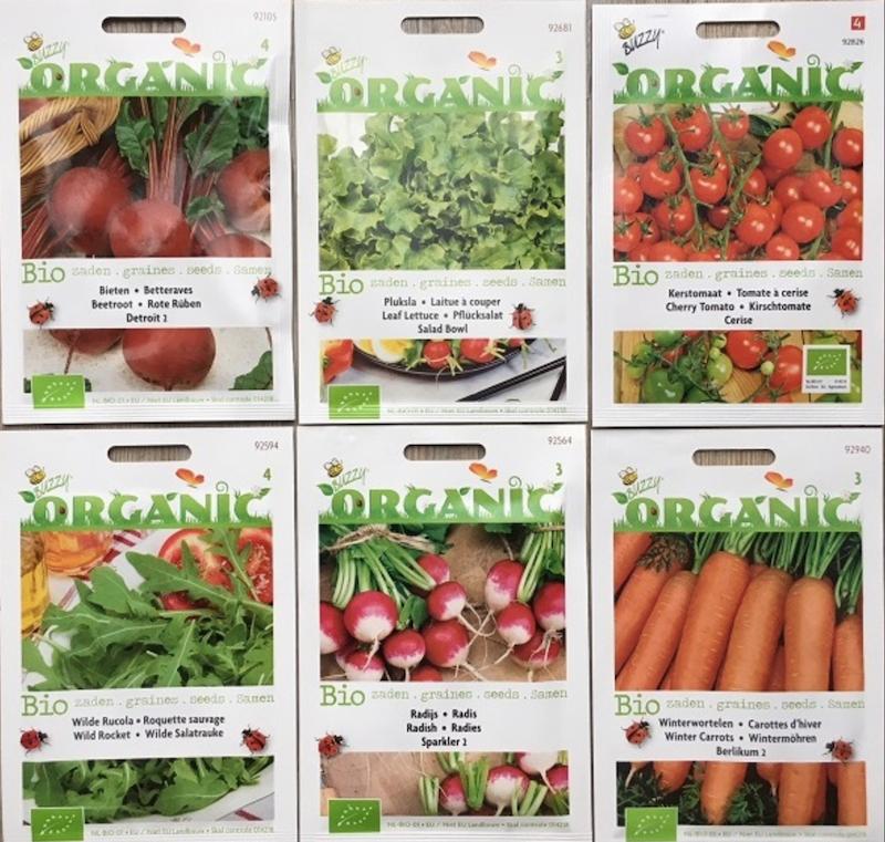 biologische zaden bestellen